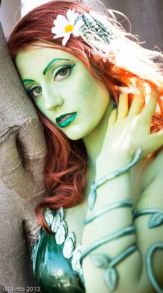 Perfect Poison Ivy cosplay captured by LJinto (See multiple shots in LJinto's photo stream)