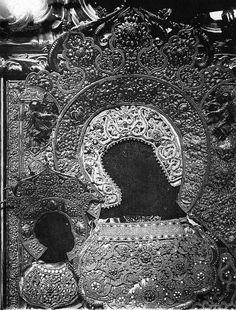 Оклад иконы Богоматерь Одмгитрия. Втор. пол. XVII в. | Flickr - Photo Sharing!