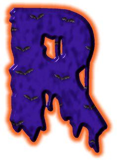 Alfabeto de murcielagos...R