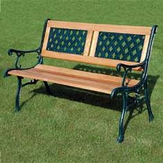 Kingfisher Garden Patio Bench Enjoy this Wonderful Opportunity. At Luxury Home Brands WE always Find Great Stuff for you :) Outdoor Garden Furniture, Furniture Decor, Outdoor Decor, Bathroom Furniture, Outdoor Living, Patio Swing, Patio Bench, Garden Benches For Sale, Backyard Plan