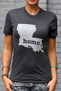 Louisiana Home T Shirt | The Home. T | Bourbon & Boots