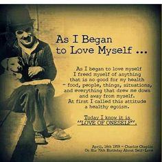 "331 Me gusta, 3 comentarios - @exhaleagain en Instagram: ""As I began to love myself..... recovering and healing......#mindset #positive #survivor…"""