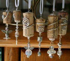 Wine Cork Necklaces