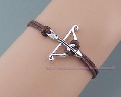 Bows bracelets & arrows bracelet antique by lovelychristmasgift, $1.99