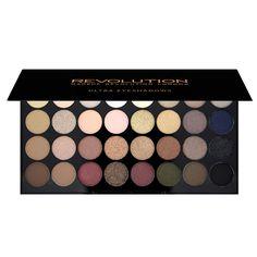 Paleta de 32 sombras Ultra - Makeup Revolution España - Makeup Revolution - Paleta de 32 sombras Ultra - Flawless