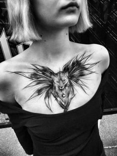 Beautifully Complex Black and White Sketch Tattoos by Inez Janiak | BlazePress