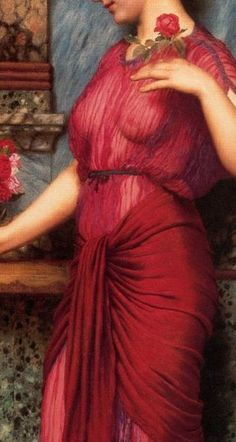 Aphrodite Painting, Cute Little Drawings, John William Godward, Academic Art, Aesthetic Painting, Art Deco Posters, Chef D Oeuvre, Classical Art, Art For Art Sake