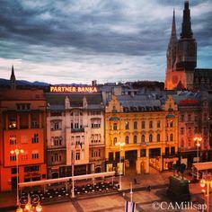 Zagreb, the capital city of Croatia