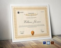 Certificate Template:  Corporate & Modern Certificate Template. Use this Certificate Template in your business, Certificate Format, Printable Certificates, Award Certificates, Certificate Design, Certificate Templates, Certificate Of Appreciation, Certificate Of Achievement, Magazine Design, Identity