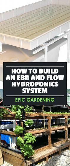Indoor Vegetable Gardening Learn how to build an ebb and flow hydroponics system, one of the simplest and cheapest ways to start growing plants in your own home. Ebb And Flow Hydroponics, Home Hydroponics, Hydroponic Farming, Hydroponic Growing, Hydroponics System, Growing Plants, Aquaponics Greenhouse, Aquaponics Diy, Homemade Hydroponic System