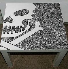 skull furniture - Google Search - skull table