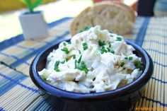 Ensalada de pollo con salsa cremosa | Ideal para sándwiches y tartaletas http://blgs.co/3ML0OD