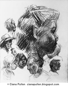 Sketch of a Crowd, by Ciana Pullen http://cianapullen.blogspot.de/2015/07/sketch-of-crowd-by-ciana-pullen.html