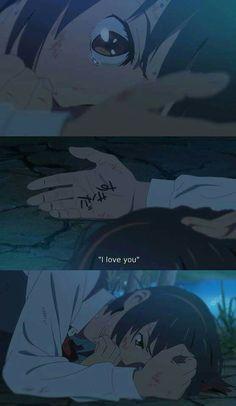 Kimi no na wa Manga Anime, Film Anime, Sad Anime, Anime Love, Kawaii Anime, Anime Guys, Anime Art, Mitsuha And Taki, Kimi No Na Wa Wallpaper