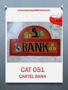 Creaciones Mayola: CARTEL BANK, FIESTA VAQUERA, DECORADOS EN CARTÓN,