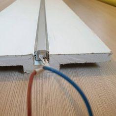 П образный ГКЛ под профиль для светодиода 16мм на 16 мм