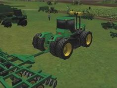 Man, you just give me a computer generated John Deere and that's all I need.