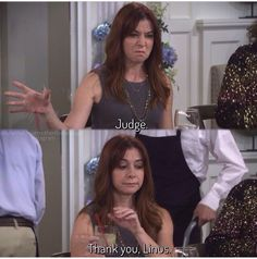 Thank you Linus.. How I Met Your Mother #himym