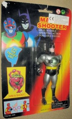 You see, he collects both new & Vintage Batman Toys but one thing he likes to focus on are the wacky-crazy bootleg toys that get made all over the globe. Description from tomztoyz.blogspot.com. I searched for this on bing.com/images