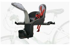 The WeeRide Safe Front Child seat was tested to the highest European Standards by TUV in Germany to meet EN14344. WeeRide has always been proud of the quality of the build and safety standards of their products, and now this has been approved by the EU. The new Safefront seat has all the advantages of the original WeeRide seats. A patented bar that attaches the seat to the bike frame and therefore centralises the weight. Suitable for ages 9 months to 4 years.