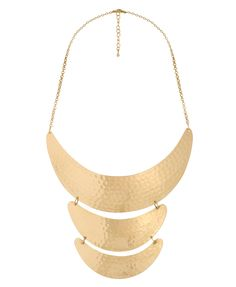 Crescent Tribal Necklace