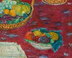 Pierre Bonnard Still Life with Fruit Basket 1944