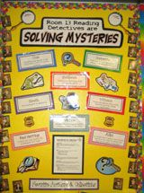 Teaching the mystery genre by Beth Newingham.lots of free resources. I love Beth Newingham. Teaching Genre, Teaching Reading, Learning, Library Lesson Plans, Library Lessons, Genre Lessons, Mystery Genre, Reading Themes, Third Grade Reading