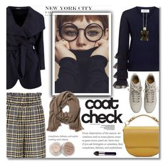 """""""Statement Coats"""" by ucetmal-1 ❤ liked on Polyvore featuring 10 Crosby Derek Lam, Ganni, Fear of God, London Road, Stila, Sophie Hulme, By Terry and statementcoats"""