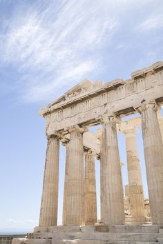 No trip to Athens is complete without a visit to the The Parthenon (Parthenonas), one of the world's most famous buildings!