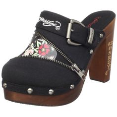 Ed Hardy Women's Darnell Clog for only $29.99