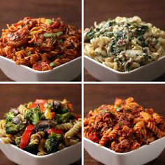 Eat Stop Eat To Loss Weight - Rotini Pasta 4 Ways - In Just One Day This Simple Strategy Frees You From Complicated Diet Rules - And Eliminates Rebound Weight Gain Tasty Videos, Food Videos, Cooking Videos Tasty, Videos Video, Comidas Light, Cooking Recipes, Healthy Recipes, Cooking Tips, Cooking Food