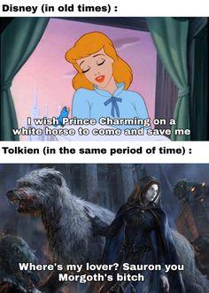 Tolkien, Das Silmarillion, Stupid Funny Memes, 9gag Funny, Funny Stuff, Generator Rex, Morgoth, O Hobbit, Animal Quotes