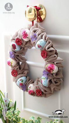 DIY Beautiful Easter wreath