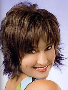 Messy Layered Hairstyle Short Hair img2bd594898d6fd772f