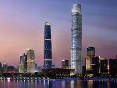 CTF Finance Centre - Guangzhou China - 530 m - 111 floors - 2016