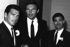 arcaneimages:  Van Williams, Adam West, and Bruce Lee