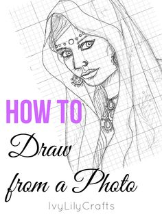 Are you struggling with how to get proportions right when you're drawing from a photo? Here are some tips for using a grid, when you're drawing from a photo reference. It's a useful tool especially for drawing portraits or animals.