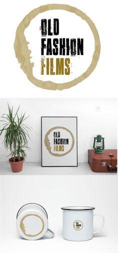 OLD FASHION FILMS  #branding #by #ookullcreativo #graphic #design #studio