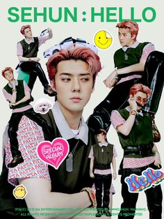 Exo, Baekhyun, Korea, Album, Wallpaper, Sticker, Posters, Icons, King
