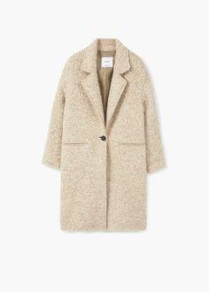 Lapels wool coat -  Women | OUTLET USA
