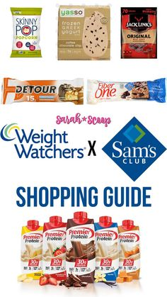 Weight Watchers Sams Club Guide - Sarah Scoop Shopping at Sam's Club is great. Weight Watchers Sams Club Guide – Sarah Scoop Shopping at Sam's Club is great because there ar Weight Watchers Tipps, Weight Watchers Snacks, Weight Loss Meals, Weight Loss Drinks, Weight Gain, Weight Watchers Program, Weight Loss Diet Plan, Weight Watchers Dressing, Weight Watchers Points List