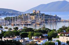 Bodrum Castle / Marina Photo by Rick Brown — National Geographic Your Shot