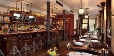 Our historic building was constructed in 1889 as the gem of Aspen, and our space was fully renovated in January 2012 by set designer Matt Duncan. The result is a modern atmosphere with a vintage feel, with unexpected details and antique elements hidden throughout. Our lunchand dinner menus are developed...