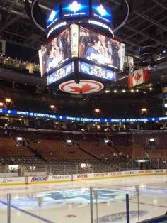 The Air Canada Center, Toronto .you took me to the Dallas game. We applied for lots of free stuff. Also brought our own crown duh.