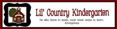 lil country kindergarten fun site with ideas Kindergarten Blogs, Preschool Curriculum, Preschool Printables, Kindergarten Reading, Homeschooling, Environmental Print, Teacher Blogs, Teacher Stuff, Apple Theme