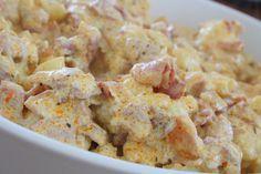 Krämig blomkålsgratäng med bacon / jennys matblogg