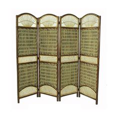 D-Art Seagrass Bamboo and Banana Leaf Room Divider (Indonesia) - Overstock™ Shopping - Great Deals on D-Art Decorative Screens