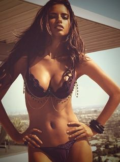 Adriana Lima. I hate you. Give me your body. Ok I really don't hate you, but…