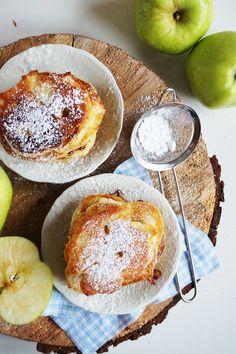 Najlepszy przepis na racuchy drożdżowe z jabłkami || mysweetworld