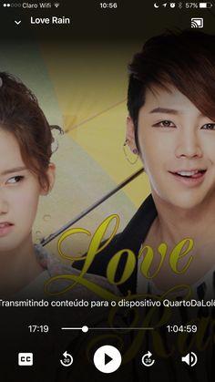 LOVE RAIN. Porque eu gosto de rir, chorar, sonhar, suspirar. E amo Jang Geun Suk. ❤️